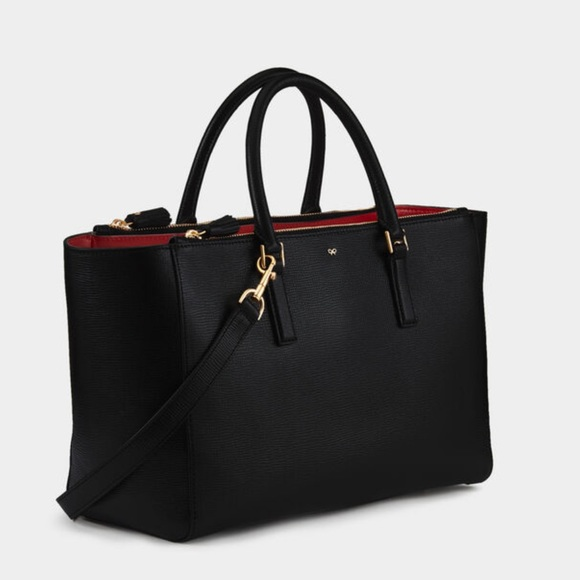 Anya Hindmarch genuine leather tote